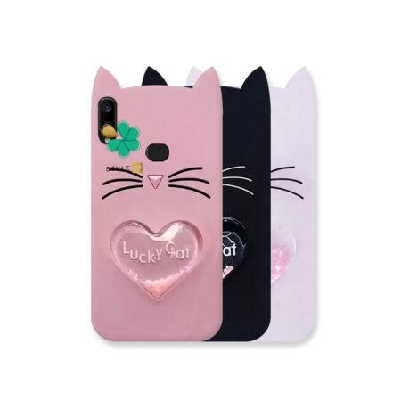 خرید کاور آکواریومی گوشی سامسونگ Galaxy A10s طرح Lucky Cat