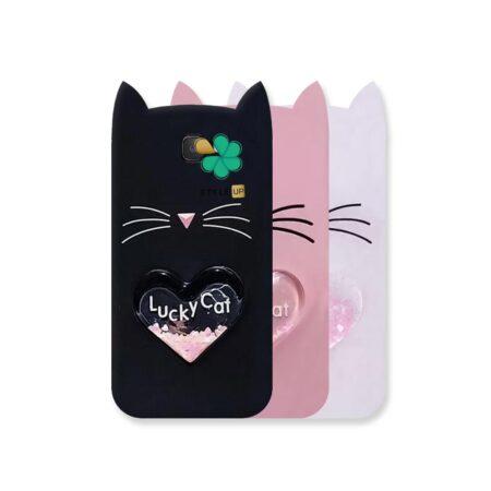 خرید کاور آکواریومی گوشی سامسونگ Galaxy J7 Prime طرح Lucky Cat