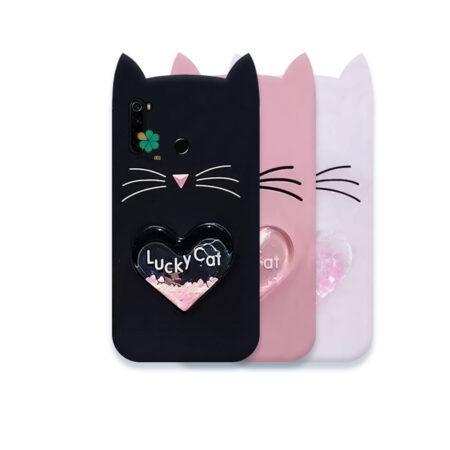 قیمت کاور آکواریومی گوشی شیائومی Redmi Note 8 طرح Lucky Cat