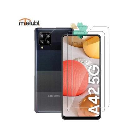 خرید گلس دور تراش بدون حاشیه میتوبل گوشی سامسونگ Samsung A42