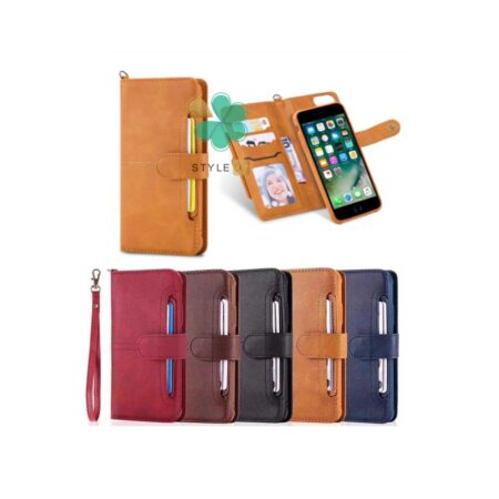 قیمت کیف و قاب چرمی گوشی اپل آیفون Apple iPhone 7 / 8 مدل JDK