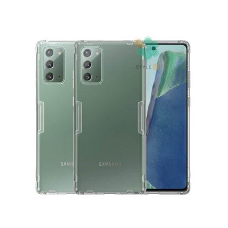 خرید قاب ژله ای نیلکین گوشی سامسونگ Galaxy Note 20 مدل Nature TPU
