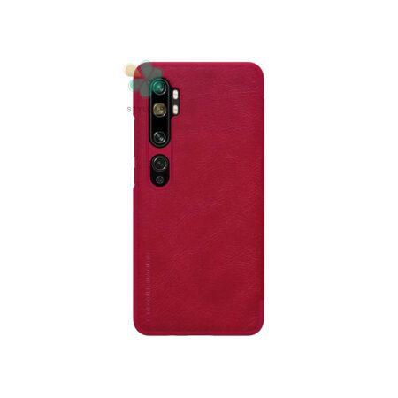 خرید کیف چرمی نیلکین گوشی شیائومی Xiaomi Mi CC9 Pro مدل Qin