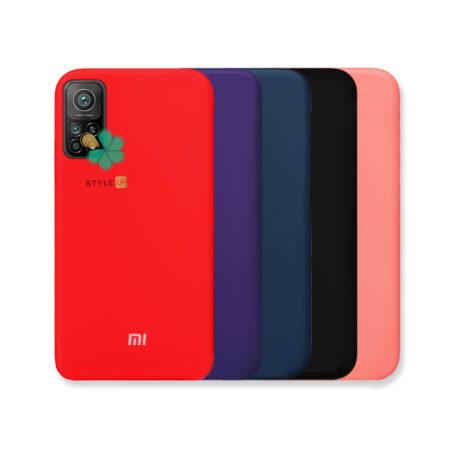 خرید کاور سیلیکونی اصل گوشی شیائومی Xiaomi Mi 10T Pro 5G