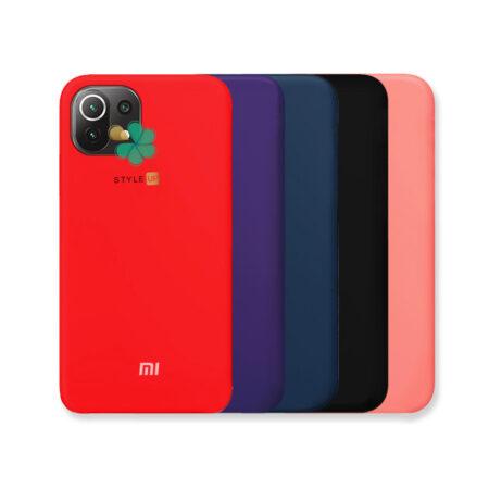 خرید کاور سیلیکونی اصل گوشی شیائومی Xiaomi Mi 11 Lite