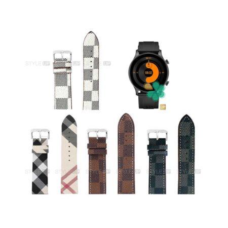 قیمت بند ساعت شیائومی Xiaomi Haylou RS3 LS04 طرح لویی ویتون
