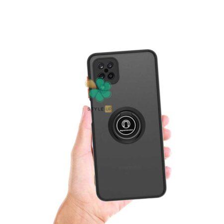 خرید قاب گوشی سامسونگ Samsung A42 5G مدل پشت مات رینگ دار