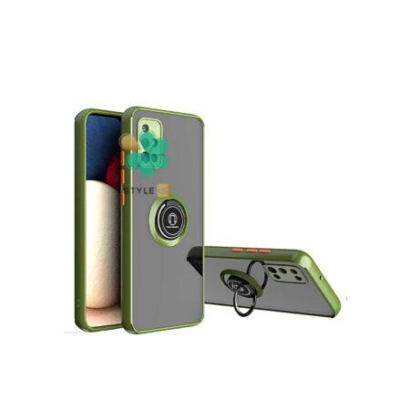 خرید قاب گوشی سامسونگ Samsung A51 مدل پشت مات رینگ دار
