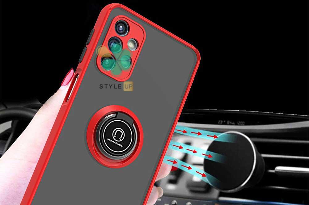 خرید قاب گوشی سامسونگ Samsung A52 مدل پشت مات رینگ دار