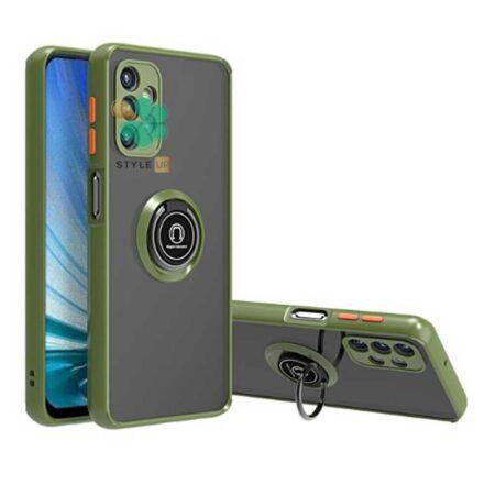 خرید قاب گوشی سامسونگ Samsung A72 مدل پشت مات رینگ دار