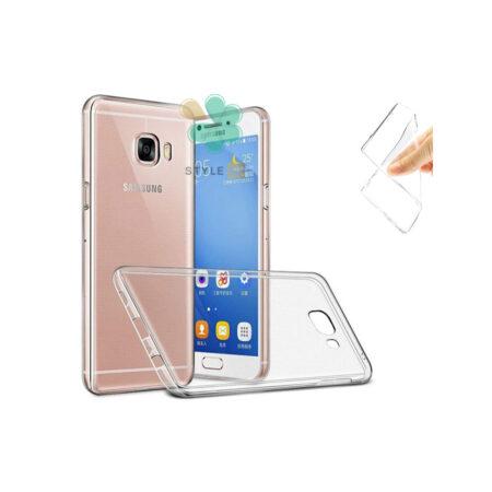خرید قاب گوشی سامسونگ Samsung Galaxy C5 Pro مدل ژله ای شفاف