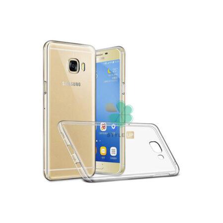 خرید قاب گوشی سامسونگ Samsung Galaxy C7 مدل ژله ای شفاف