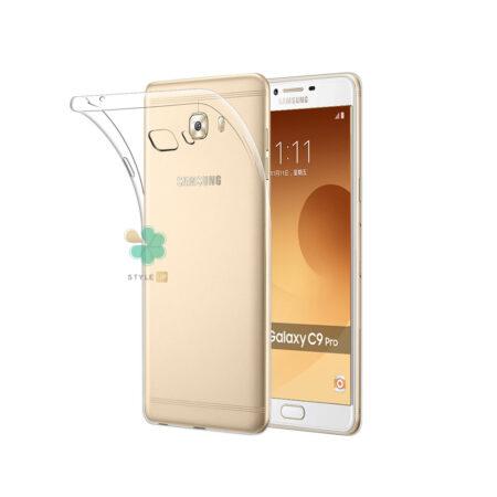 خرید قاب گوشی سامسونگ Samsung Galaxy C9 Pro مدل ژله ای شفاف