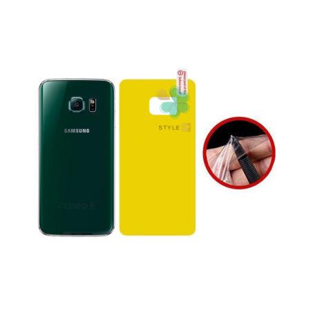 خرید برچسب محافظ نانو پشت گوشی سامسونگ Samsung Galaxy S6 Edge