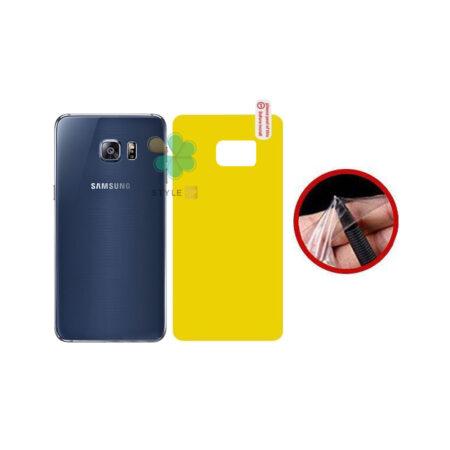 خرید برچسب محافظ نانو پشت گوشی سامسونگ Galaxy S6 Edge Plus