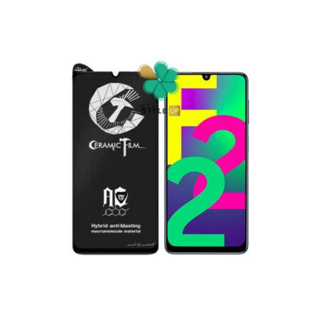 خرید گلس سرامیکی مات گوشی سامسونگ Galaxy F22 برند Mietubl