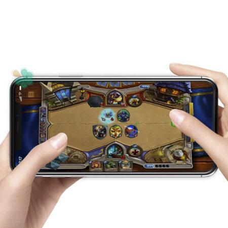خرید گلس گوشی اپل آیفون Apple iPhone 12 Pro Max مدل دور ژله ای