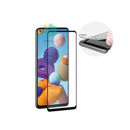 خرید گلس گوشی سامسونگ Samsung Galaxy A21s مدل دور ژله ای