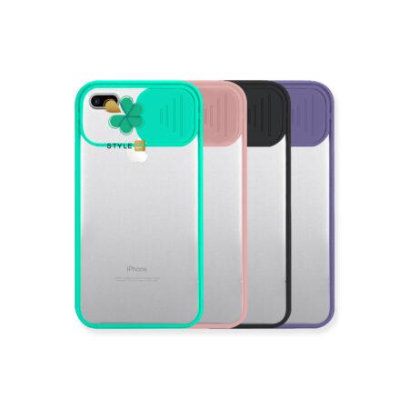 خرید قاب پشت طلق گوشی اپل iPhone 7 Plus / 8 Plus مدل محافظ لنزدار کشویی