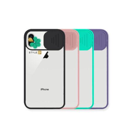 خرید قاب پشت طلق گوشی اپل iPhone X / XS مدل محافظ لنزدار کشویی
