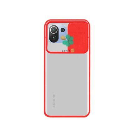 قیمت قاب گوشی شیائومی Xiaomi Mi 11 Lite مدل پشت مات کم شیلد رنگی