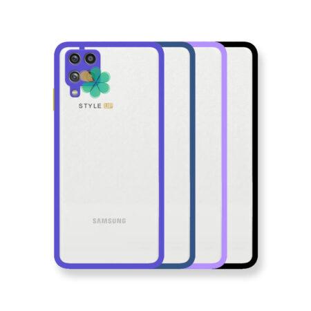 خرید قاب پشت شفاف گوشی سامسونگ Galaxy A12 مدل دور سیلیکونی
