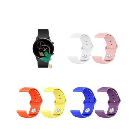 خرید بند سیلیکونی ساعت شیائومی Xiaomi Haylou RS3 LS04 مدل دکمه ای