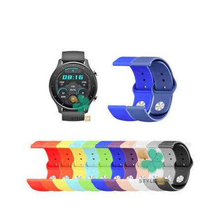 خرید بند سیلیکونی ساعت شیائومی Mi Watch Revolve Active مدل دکمه ای