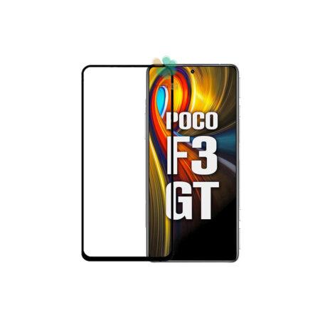خرید گلس گوشی شیائومی Xiaomi Poco F3 GT مدل تمام صفحه