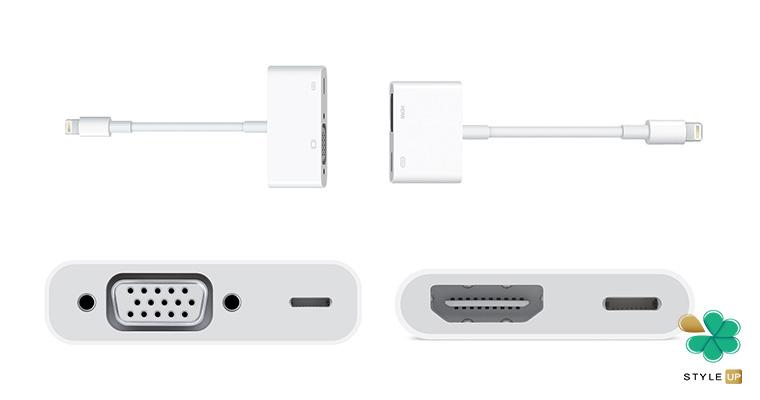 نحوه اتصال آیفون به تلویزیون با استفاده از کابل HDMI
