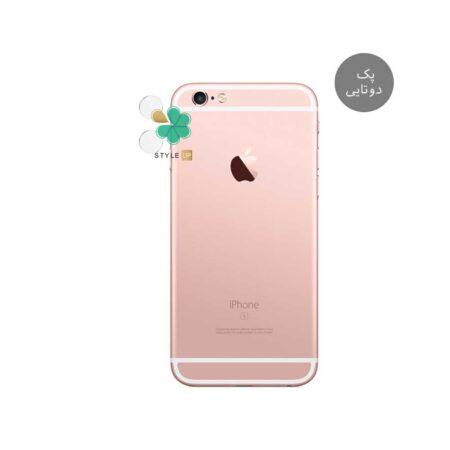 خرید پک دوتایی محافظ لنز نانو سرامیک گوشی اپل iPhone 6 / 6s