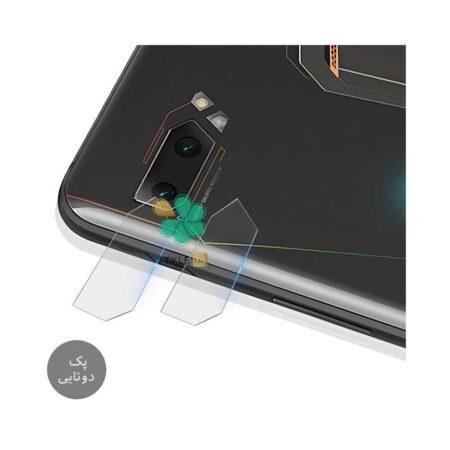 خرید پک دوتایی محافظ لنز نانو سرامیک گوشی ایسوس Asus ROG Phone 2 ZS660KL