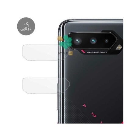 خرید پک دوتایی محافظ لنز نانو سرامیک گوشی ایسوس Asus ROG Phone 5