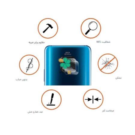 خرید پک دوتایی محافظ لنز نانو سرامیک گوشی هواوی Huawei Mate 20 Pro
