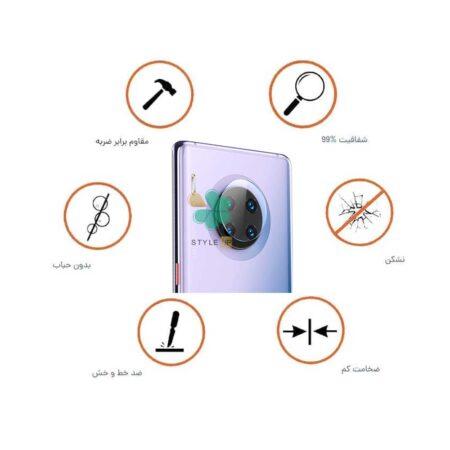 خرید پک دوتایی محافظ لنز نانو سرامیک گوشی هواوی Huawei Mate 30E Pro 5G