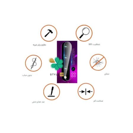 خرید پک دوتایی محافظ لنز نانو سرامیک گوشی هواوی Nova 5 / Nova 5 Pro
