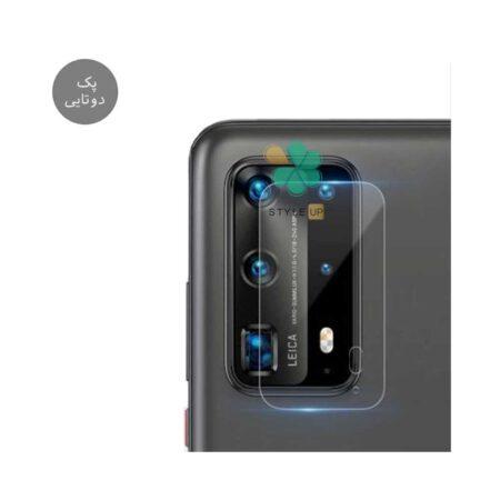 خرید پک دوتایی محافظ لنز نانو سرامیک گوشی هواوی P40 Pro Plus