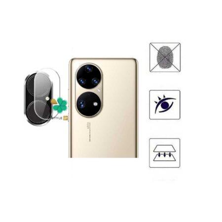 خرید پک دوتایی محافظ لنز نانو سرامیک گوشی هواوی Huawei P50 Pro