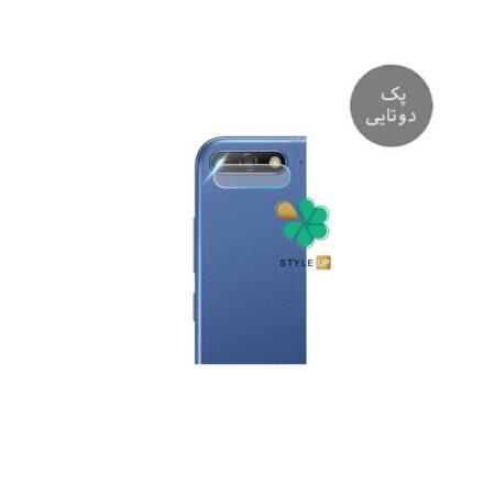 خرید پک دوتایی محافظ لنز نانو سرامیک گوشی هواوی Huawei Y6 Prime 2018