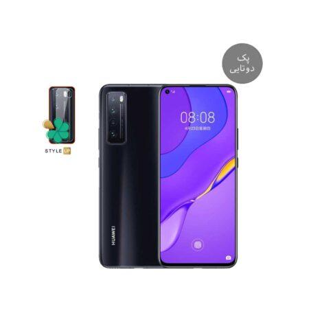 خرید پک دوتایی محافظ لنز نانو سرامیک گوشی هواوی Huawei nova 7 5G