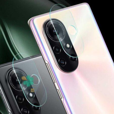 عکس پک دوتایی محافظ لنز نانو سرامیک گوشی هواوی Huawei nova 8 5G