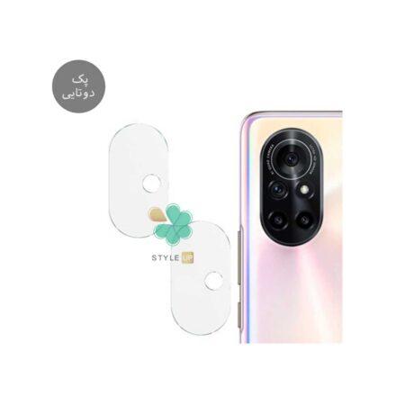 خرید پک دوتایی محافظ لنز نانو سرامیک گوشی هواوی Huawei nova 8 Pro 5G