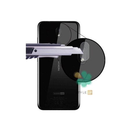 خرید پک دوتایی محافظ لنز نانو سرامیک گوشی نوکیا Nokia 3.1