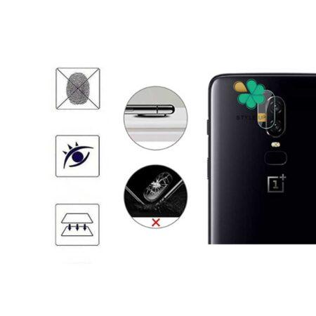 خرید پک دوتایی محافظ لنز نانو سرامیک گوشی وان پلاس OnePlus 6