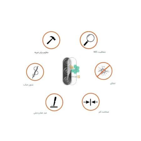 خرید پک دوتایی محافظ لنز نانو سرامیک گوشی سامسونگ Samsung M11