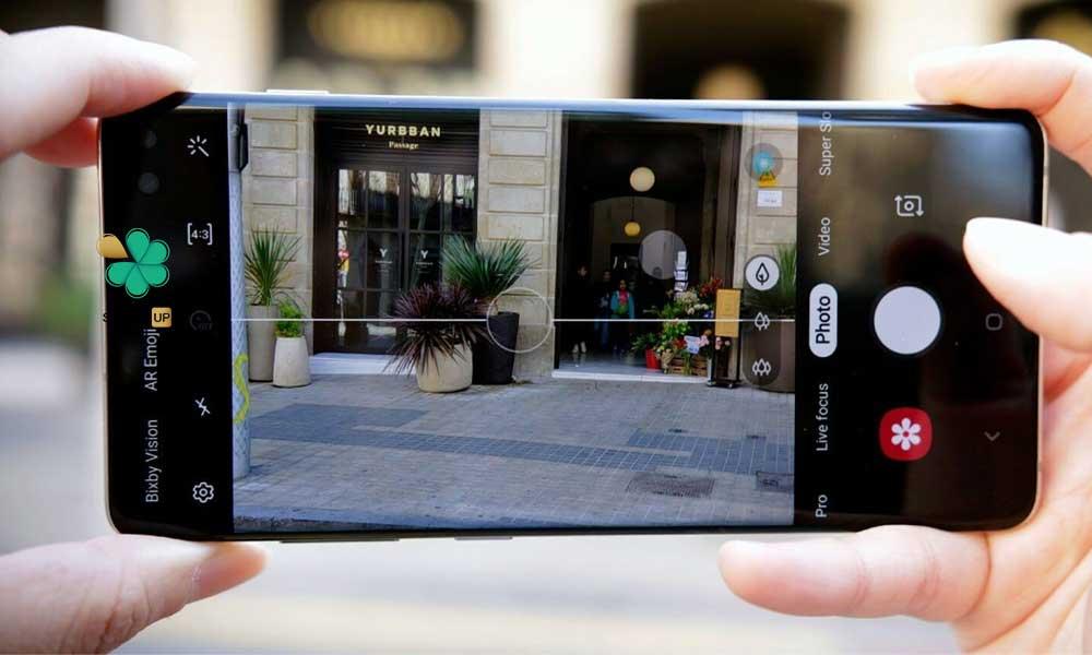 عکس پک دوتایی محافظ لنز نانو سرامیک گوشی سامسونگ Samsung S10 Plus