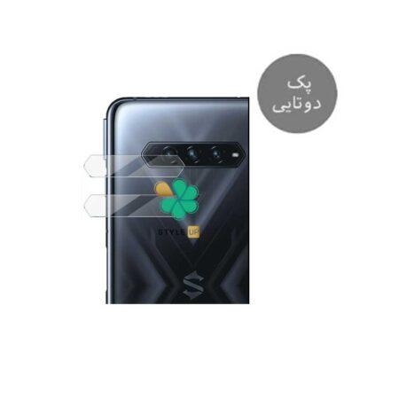 خرید پک دوتایی محافظ لنز نانو سرامیک گوشی شیائومی Xiaomi Black Shark 4