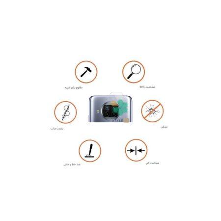 عکس پک دوتایی محافظ لنز نانو سرامیک گوشی شیائومی Xiaomi Mi 10T Lite 5G