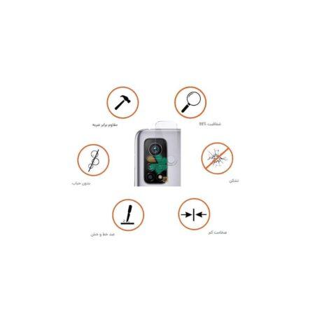 خرید پک دوتایی محافظ لنز نانو سرامیک گوشی شیائومی Xiaomi Mi 10T Pro 5G