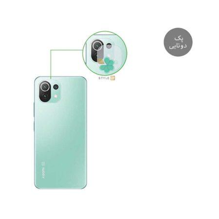 خرید پک دوتایی محافظ لنز نانو سرامیک گوشی شیائومی Xiaomi Mi 11